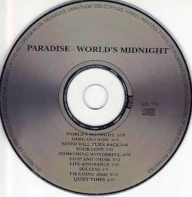 BENTLEYfunkCDedition: Paradise - World's Midnight (1982) (Edition CD)