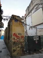 Málaga, solar resultado de demolición de edificio histórico en calle Tomás de Cózar 4