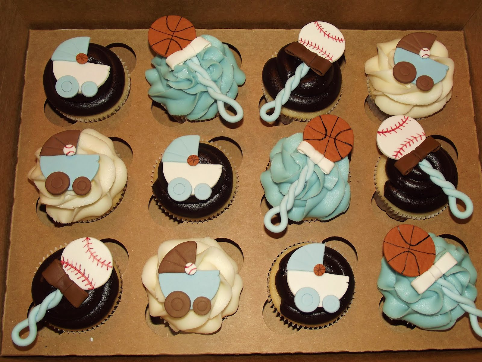 Baby Shower Ideas Cupcake Themed : Suzy s Sweet Shoppe: September 2012