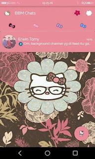 BBM Tema Pink Hello Kitty v 2.9.0.51 apk