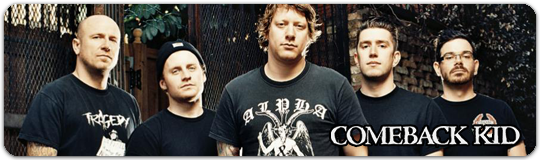 Что послушать? Послушай лучший рок от хардкор панк металкор группы Comeback Kid