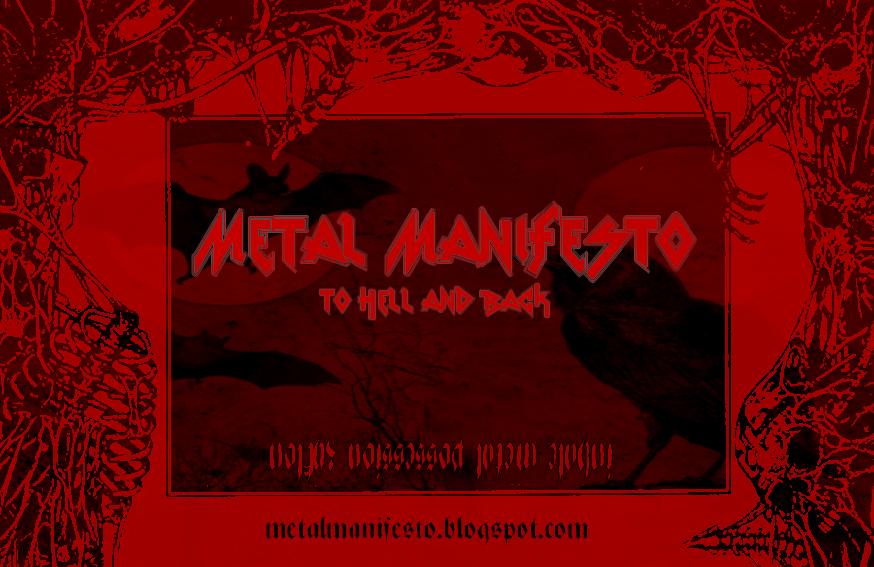 Metal Manifesto Blog