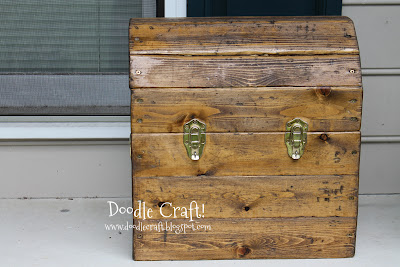 Easy Treasure Chest Woodworking Plans Wood Plans US UK CA
