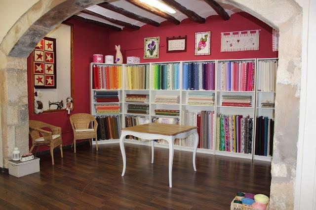 Salón de las telas, nueva tienda Vilabors