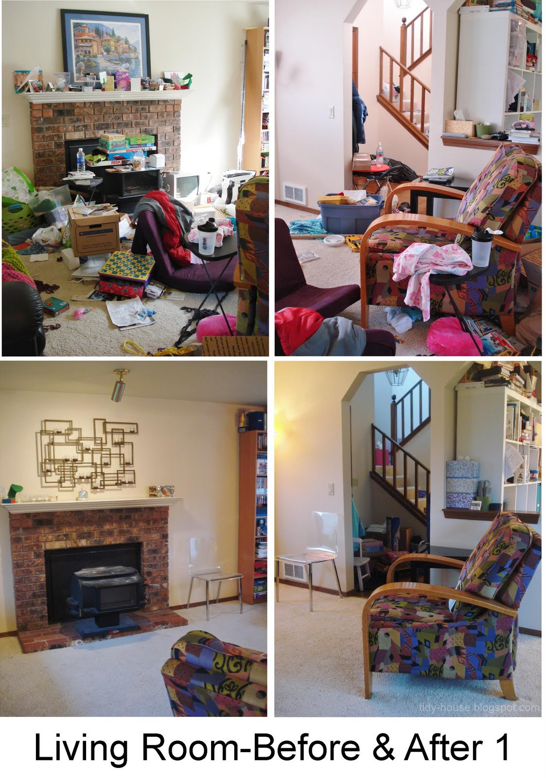 Messy Room Before And After Images & Pictures Becuo, messy living ...