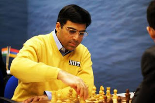 Échecs : le champion du monde d'échecs Viswanathan Anand - Photo © Tata Steel