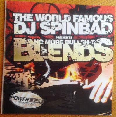 DJ Spinbad Presents No More Bullsh%t Blends (2004, CD, 320)