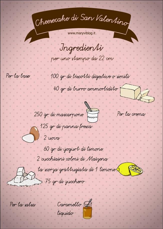 Ricetta Cheesecake di San Valentino