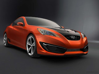 Hyundai Genesis Coupe Concept Pictures