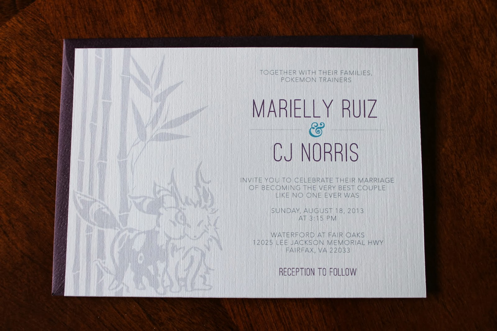 Dreaming of Dinosaurs: Our Invitations and other Wedding Stationery
