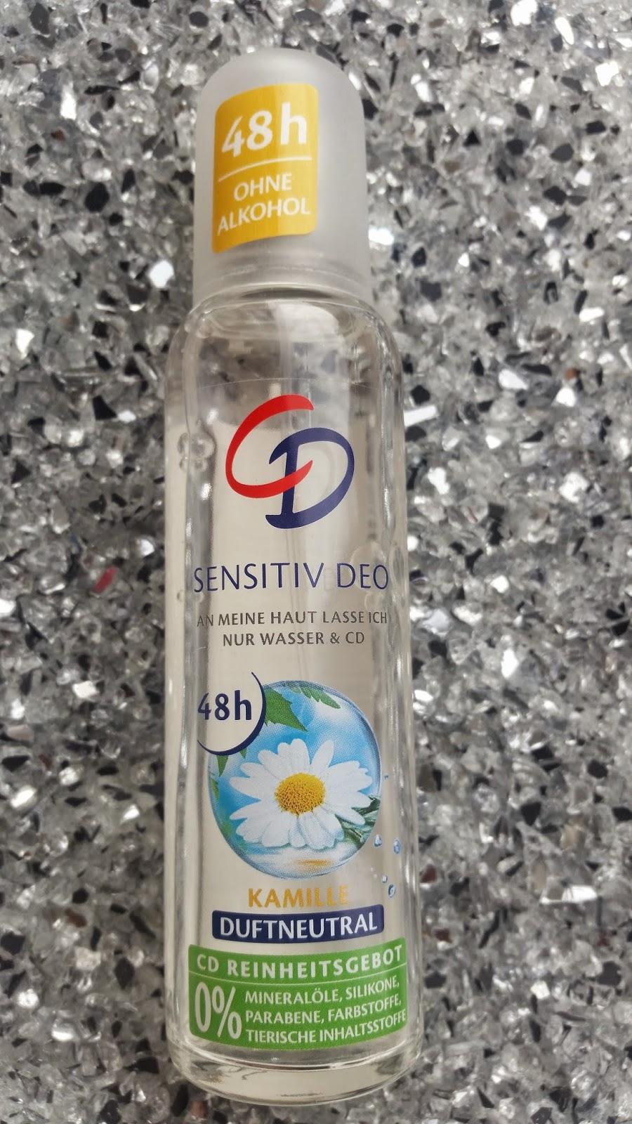 Sensitiv Deo mit Kamille von CD - 10 Deos - OHNE Aluminium - www.annitschkasblog.de
