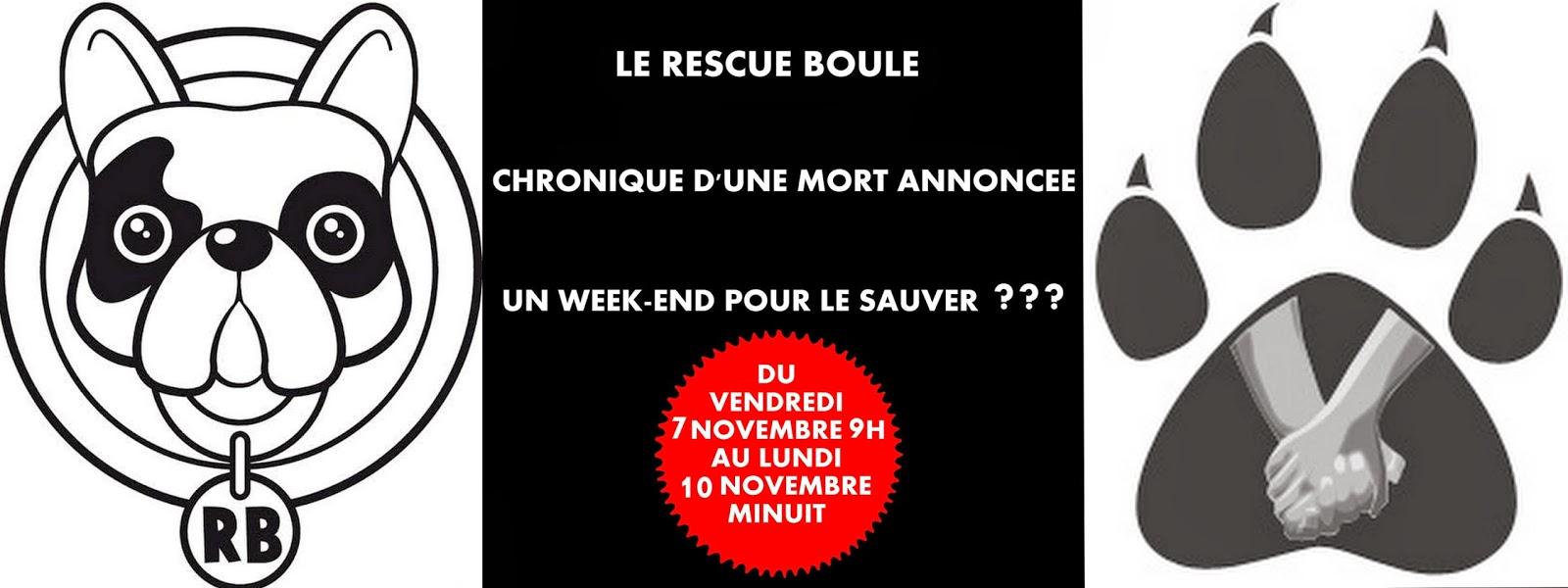 URGENT : SAUVER  RESCUE BOULE !