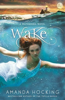 Listening to Wake by Amanda Hocking (MN author!)