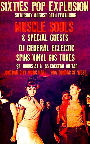 Sixties Pop Explosion @ Junction City Music Hall, Saturday