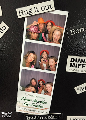 Photo Booth fun with some of my favorites during #tptvegas15 happy hour