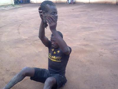 Man beheads village elder