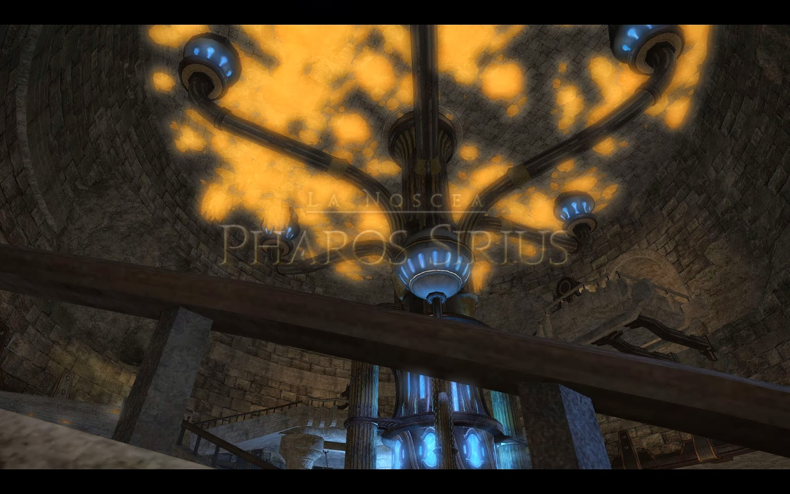 Lots of crystals on the roof in the new dungeon... wait... is this ...