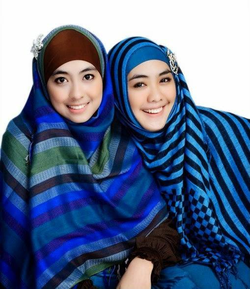 Tutorial Jilbab Oki Setiana Dewi