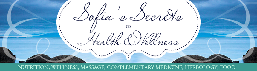 <center> Sofia's Secrets to Health and Wellness </center>