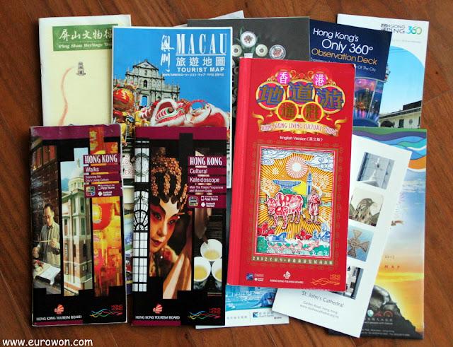 Guías turísticas de Hong Kong y Macao