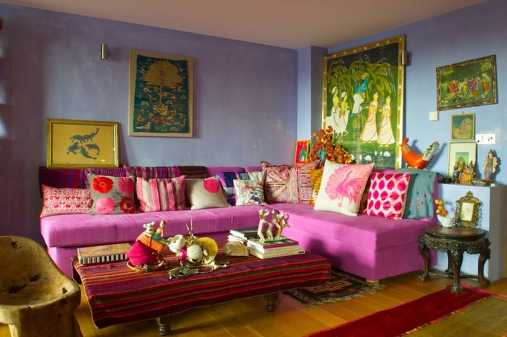 The Bohemian Jewel Toned Home Of Pippa Small