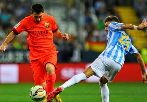 Messi đã bị khóa chặt