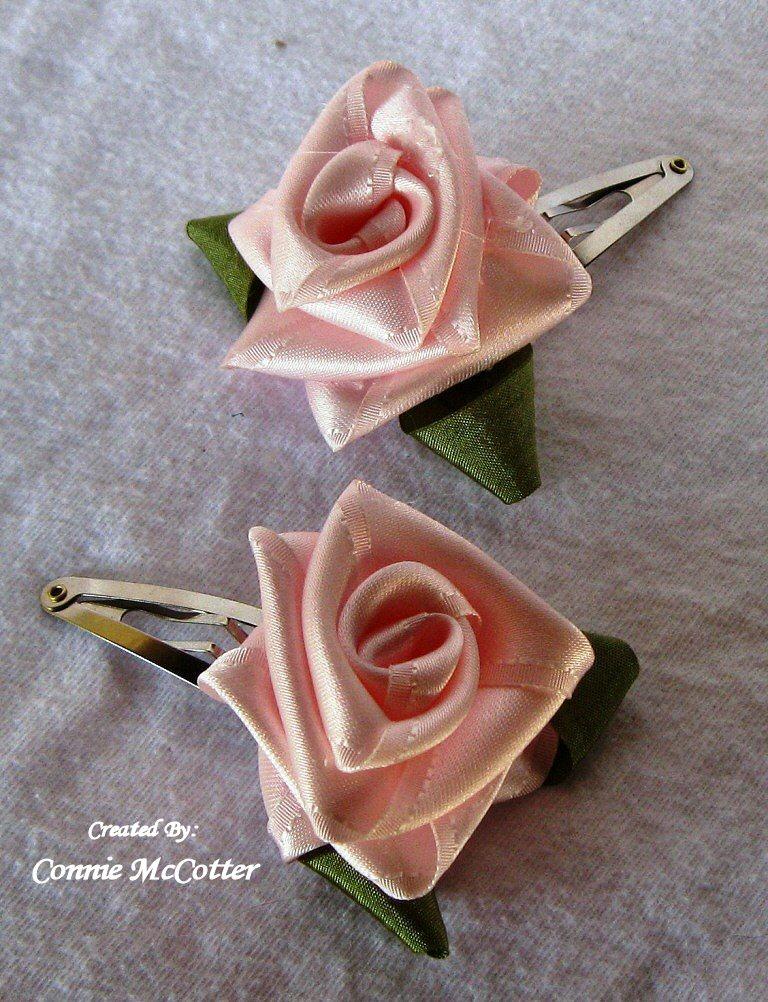 Really reasonable ribbon blog april 2011 folded ribbon rose tutorial mightylinksfo