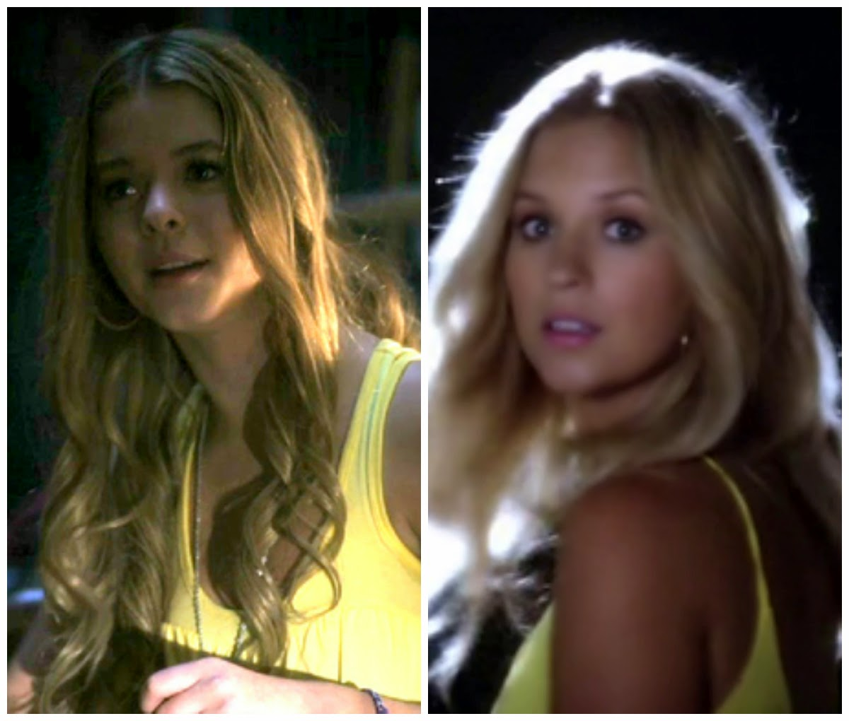 PLL Alison and CeCe Yellow Top