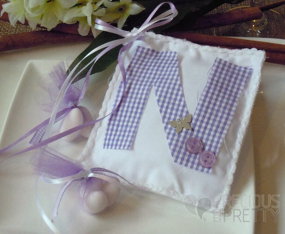 favors for girl's greek christening