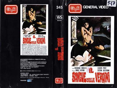 Sangre de Vírgenes VHS