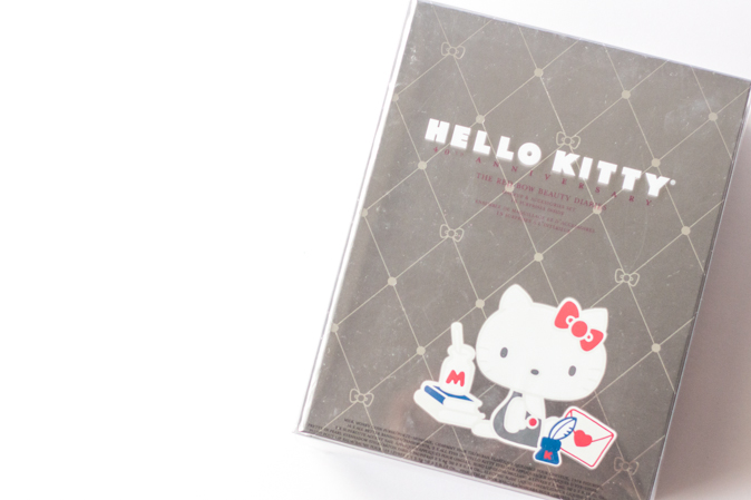 hello kitty red bow beauty diaries makeup set
