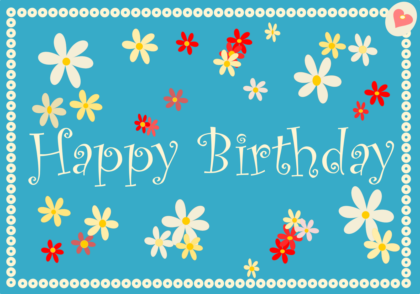 Free Birthday Cards Birthday – Free Printable Happy Birthday Card