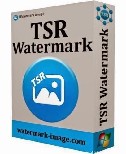 تحميل برنامج حفظ الحقوق على الصور وضع علامة مائية على الصور TSR Watermark Image 2015