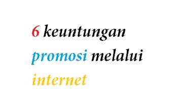 keuntungan memasang iklan di internet