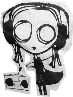 Mendengarkan musik untuk berlatih listening bahasa Inggris