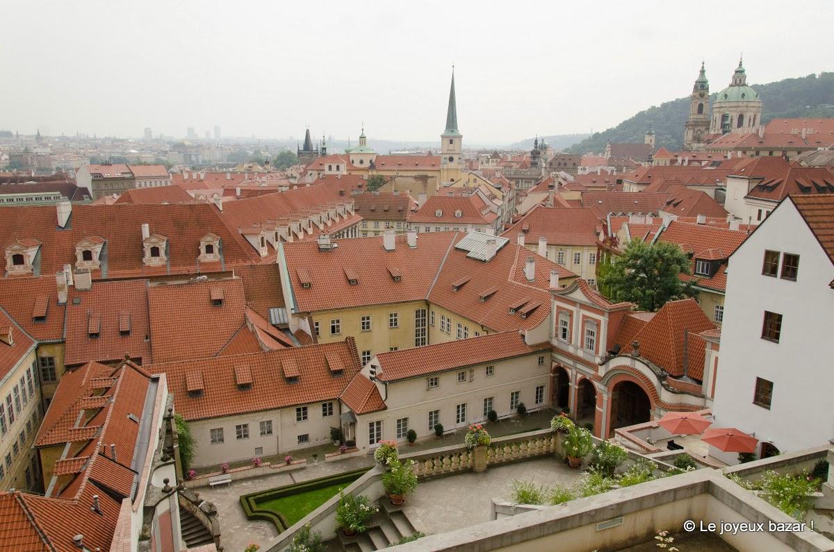 2 jours a Prague-jardins sous le chateau