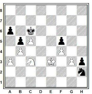 Problema ejercicio de ajedrez número 676: Aliuxev - Xulman (Letonia, 1980)