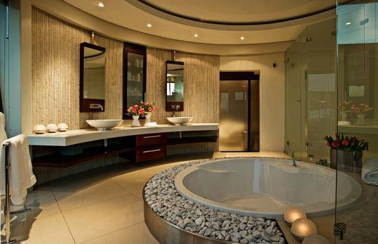 Beautiful Salle De Bain De Luxe Avec Jacuzzi Ideas House Design