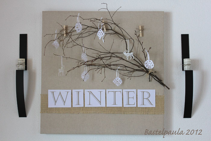 Winterdeko - Winterdeko selber machen ...