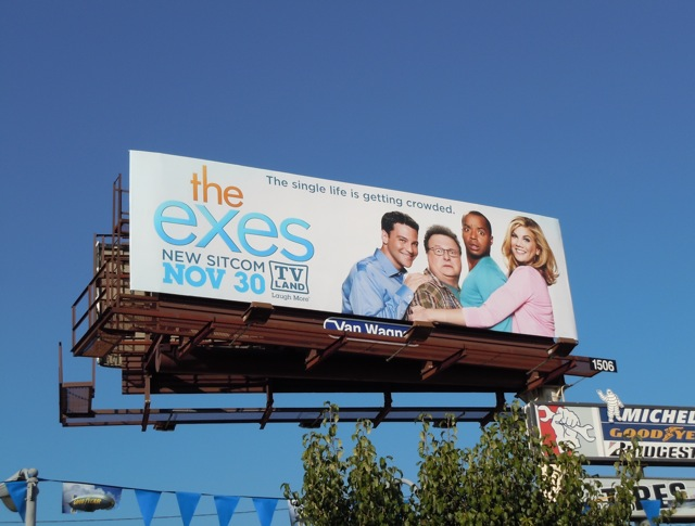 The Exes TV Land billboard