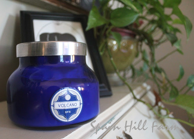 great smelling candles can add to the overall feeling of the room
