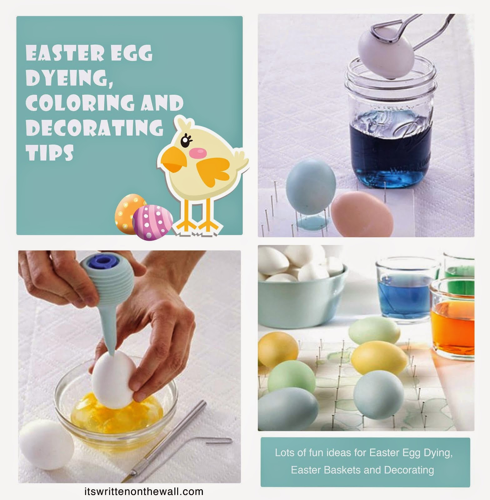 Easter Egg Coloring & Decorating Tips
