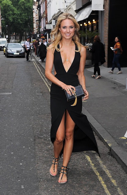 Television Personality, Actress, Socialite @ Kimberley Garner - at a fashion show in London