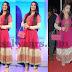 Charmi Pink Anarkali Salwar