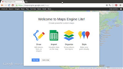 Google Maps Engine Lite