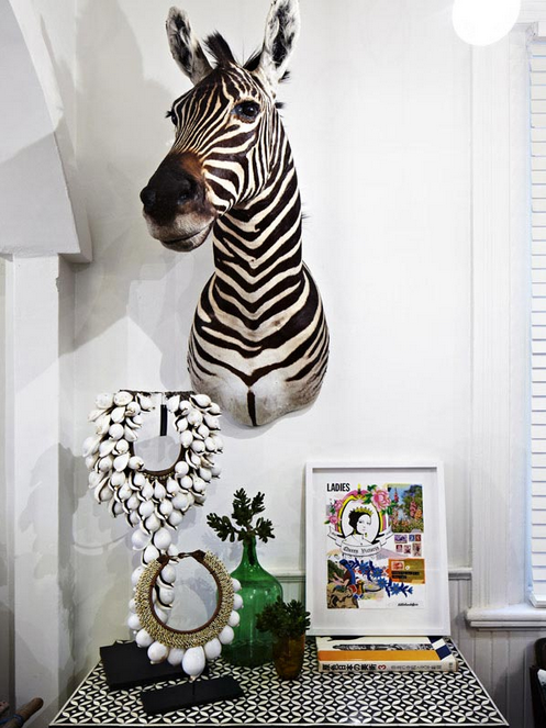 Wall Sticker Zebra At Home And Interior Design Ideas - Instructions on how to put up a wall sticker