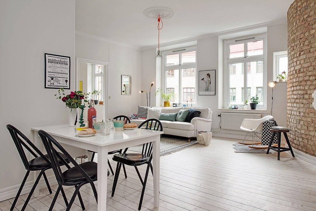 my scandinavian home the blonde nordic apartment. Black Bedroom Furniture Sets. Home Design Ideas