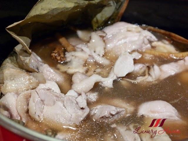 doubletree johor bahru makan kitchen herbal chicken review