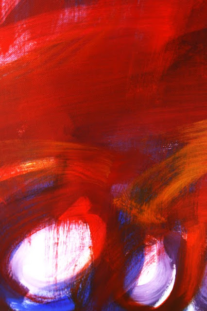 Marc Lawrence Abstract Canvas Acrylic Painting 02