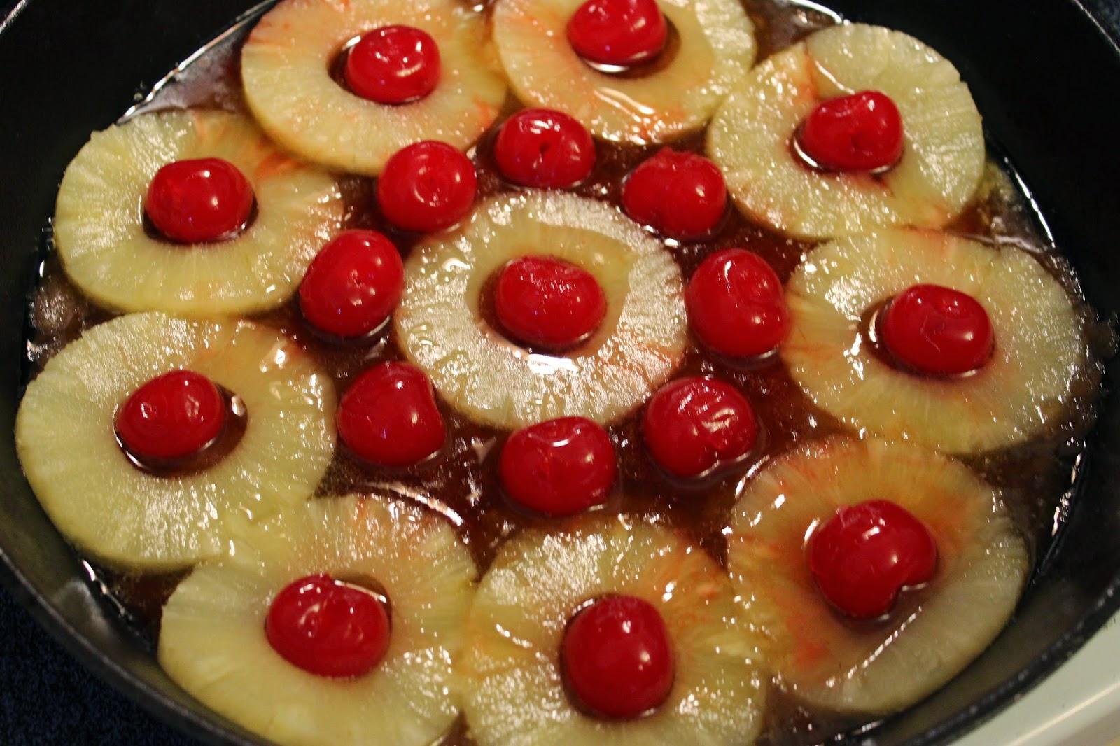 Sweet Tea and Cornbread: Iron Skillet Pineapple Upside Down Cake!
